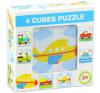 Mesekocka Járművek mix - 4 darabos puzzle, kirakós