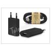Univerzális Univerzális USB hálózati töltő adapter + micro USB adatkábel - 5V/1A - black