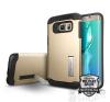 Spigen SGP Slim Armor Samsung Galaxy S6 Edge+ Champagne Gold hátlap tok tok és táska