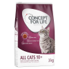 Concept for Life All Cats 10+ - 3 x 3 kg