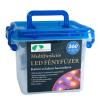 DT Kültéri LED fényfüzér, 8 funkciós vezérlővel, 5,9 m, kék KTC 062