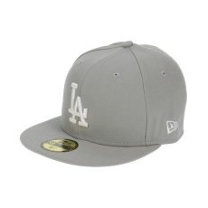 New Era LEAGUE BASIC LOS ANGELES DODGERS GRAY/OP 62,5 cm szürke