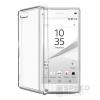 utángyártott Sony Xperia Z5 Compact Ultra Slim 0.3 mm szilikon hátlap tok, átlátszó