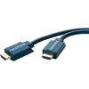 HDMI Csatlakozókábel [1x HDMI dugó - 1x HDMI dugó] 20 m Kék 3840 x 2160 pixel clicktronic