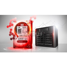Western Digital RED 6TB HDD (WD60EFRX) merevlemez