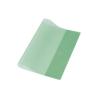 PANTA PLAST Füzetborító, A5, 80 mikron, zöld (10 darab)