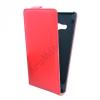 utángyártott Tok álló, bőr (FLIP, mágneses) PIROS [Nokia Lumia 730, Lumia 735]