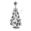 Ezüst Karácsonyfa Gömbökkel