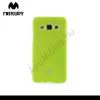 Mercurycase Mercury Goospery telefonvédő gumi / szilikon (csillámporos) ZÖLD [Samsung Galaxy A3 (SM-A300F)]
