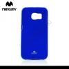 Mercurycase Mercury Goospery telefonvédő gumi / szilikon (csillámporos) KÉK [Samsung Galaxy S6 EDGE (SM-G925F)]