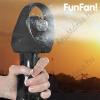 FunFan Hordozható Párásító Ventilátor, Piros