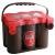 OPTIMA Red - 12v 50ah - autó akkumulátor - oldalcsavaros *F - 4,2