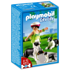 Playmobil Kutyasétáltatás - Border collie-k - 5213