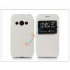 Haffner Samsung SM-G388F Galaxy Xcover 3 S-View Flexi oldalra nyíló flipes tok - fehér
