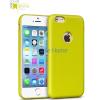 Apple iPhone 6 Plus HOCO Paris Series Bőrhatású Hátlap - Zöld