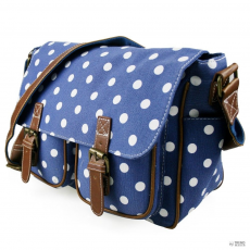 L1157D2 - Miss Lulu London táska Polka Dot Navy