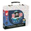 JANOD - Kalózhajó mozaikkészlet bőröndben