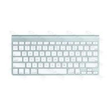 Apple Vezeték Nélküli Billentyűzet, wireless, INT, ezüst mc184z/b billentyűzet