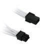 Bitfénix BitFenix 6-Pin PCIe hosszabbító 45cm - fehér / fekete