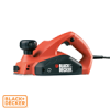 Black and Decker gyalugép 650W 82mm szélesség KW712 BLACK+DECKER