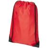 CENTRIX Condor hátizsák-tornazsák, piros (Speciális anyagkombináció miatt ez az egyszerű táska egyedi és)