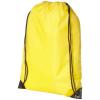 CENTRIX Oriole tornazsák, hátizsák, sárga (PREMIUM tornazsák, húzózsinórral zárható nagy fő rekesszel. A)