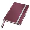 Leitz Jegyzetfüzet-44860028-A5 kockás gránátvörös STYLE