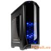 "Kolink Aviator Gaming Window Black/Blue LED Black,2x5,25"",1+belső 3x3,5"",ATX,Window,1xUsb,Audio,Táp nélkül,211x480x400mm,1x2,5"",Ventillátor:3x12cm,2xUSB3.0"