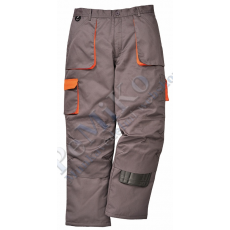 Portwest TX16 TEXO Contrast bélelt nadrág *FEKETE*