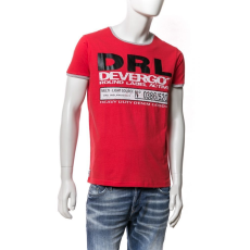 DEVERGO T-SHIRT Férfi póló piros