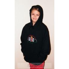 Kapucnis pulóver M méret