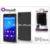 Made for Xperia MUVIT Sony Xperia Z5 (E6653) hátlap - Made for Xperia Muvit Soft Touch - black