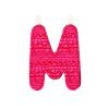 LILLIPUTIENS M betű - textil