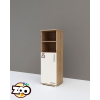 TODI ZOO – keskeny nyitott polcos + 1 ajtós szekrény
