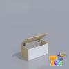 TODI Kaméleon-juhar – játéktartó doboz