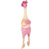 Trixie Trixi csirke sípolós kutyajáték lány