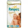 Pampers Premium Care, Maxi 7-18 kg, 52 db-os