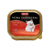Animonda Cat Vom Feinsten Kitten, marha 100 g