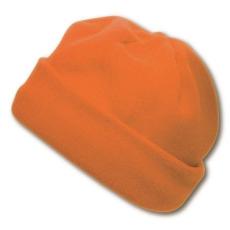 Polár sapka, narancssárga (Polár sapka, 200 g/m2 Méret: 27x16cm.)