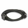 PHANTEKS 8-Pin EPS12V hosszabbító 50cm - harisnyázott Fekete