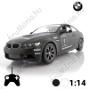 BMW M3 Távirányítós Sportkocsi, Fehér