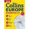 Collins Európa atlasz Collins 1:1 000 000 2016 A4