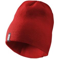 ELEVATE Level Beanie sapka, piros (Bordás kötésű, kétrétegű sapka.  100% akril. Kívül-belül Elevate)