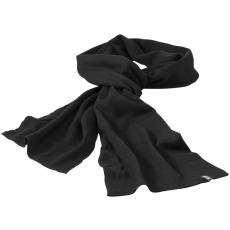 ELEVATE Mark sál, fekete (Mark sál, kétrétegű, körkötött anyag, tisztázott szélek. A sál szélein  tűzött)