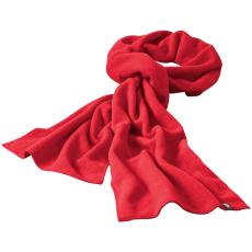 ELEVATE Redwood fleece sál, piros (Redwood fleece sál, mindkét oldala fésült, bolyhosodásmentes. Szegett szélű)