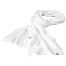 ELEVATE Mark sál, fehér (Mark sál, kétrétegű, körkötött anyag, tisztázott szélek. A sál szélein  tűzött címke,)