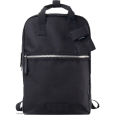 CRUMPLER - Doozie Backpack black / metallic silver