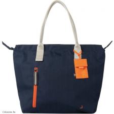 CRUMPLER - Doozie Tote M navy / carrot kézitáska és bőrönd