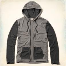 Hollister hoodie kapucnis felső- szürke