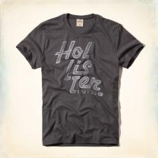 Hollister póló- szürke
